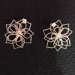 GORGEOUS WIRE EARRINGS! Unique! NEW